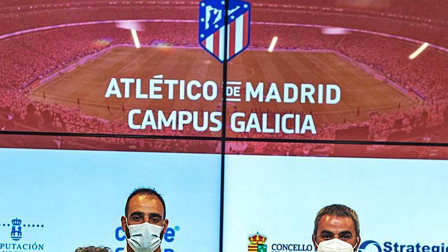 El Atlético de Madrid llega a Viana do Bolo con un campus