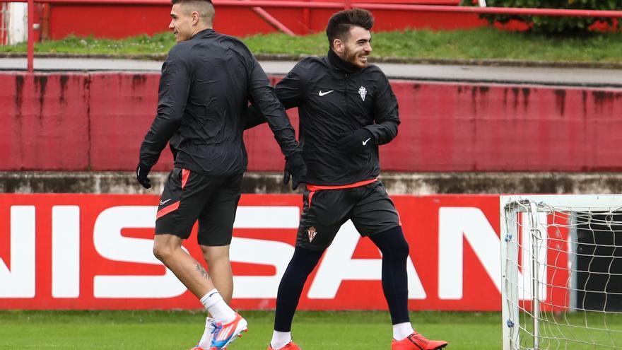 Las opciones ofensivas del Sporting para recibir al Mirandés: Ataque de dudas