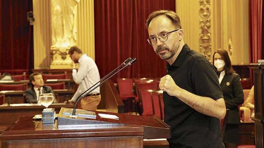 El Parlament rechaza los presupuestos del Estado por la inversión en Baleares