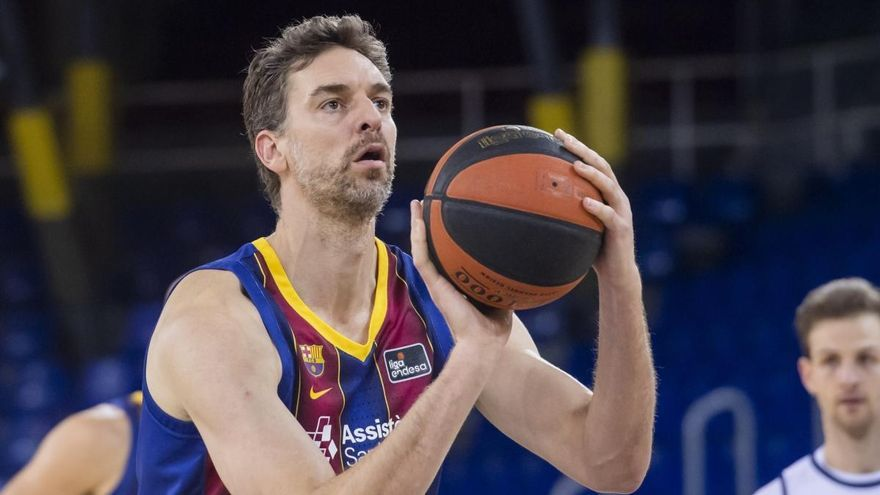 Gasol tira del Barça para vencer al Manresa