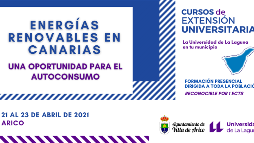Curso 'Energías renovables en Canarias: Una oportunidad para el autoconsumo'
