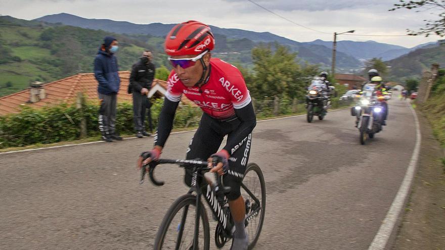 Nairo gana a lo grande: así se desarrolló la primera etapa de la Vuelta a Asturias