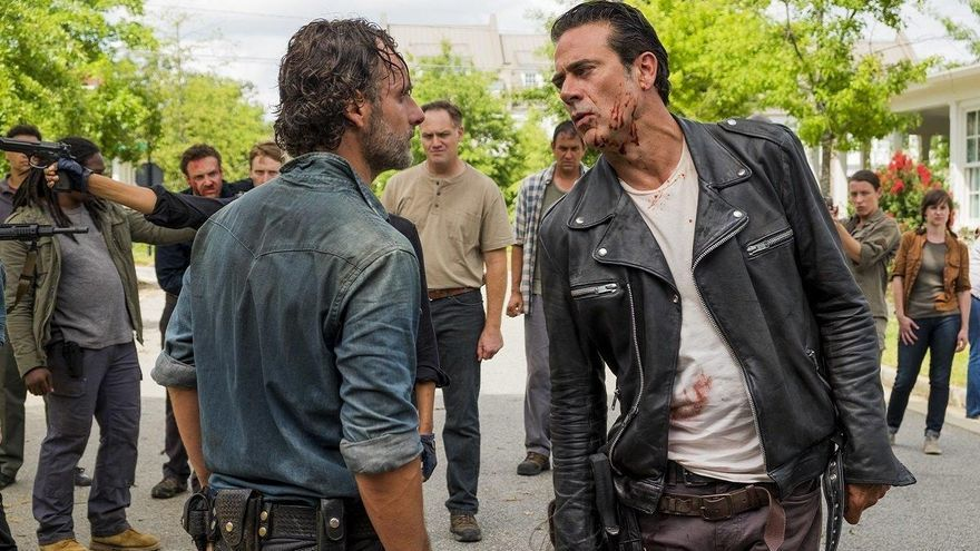 'The Walking Dead': Por qué Rick no mató a Negan