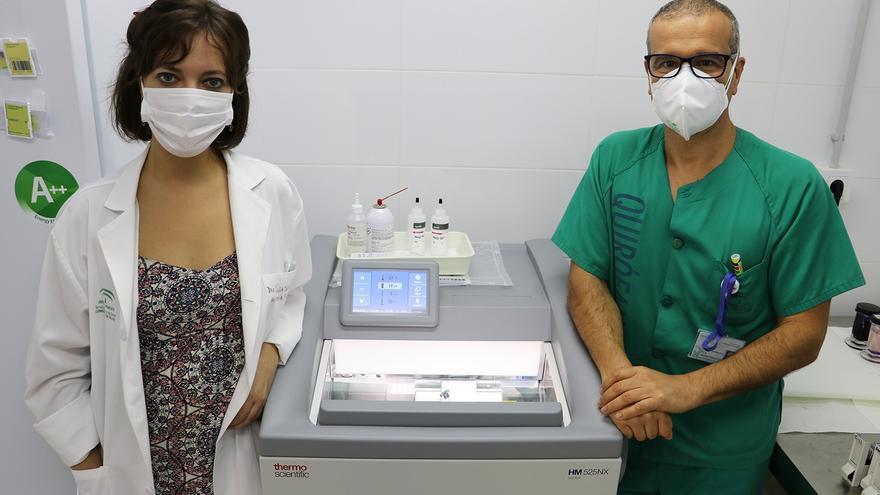El Hospital Serranía de Ronda obtiene resultados de anatomía patológica en 20 minutos con un nuevo criostato