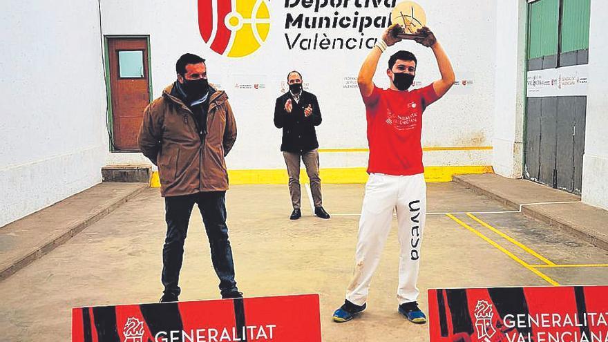 Herrera se corona con el individual de galotxa