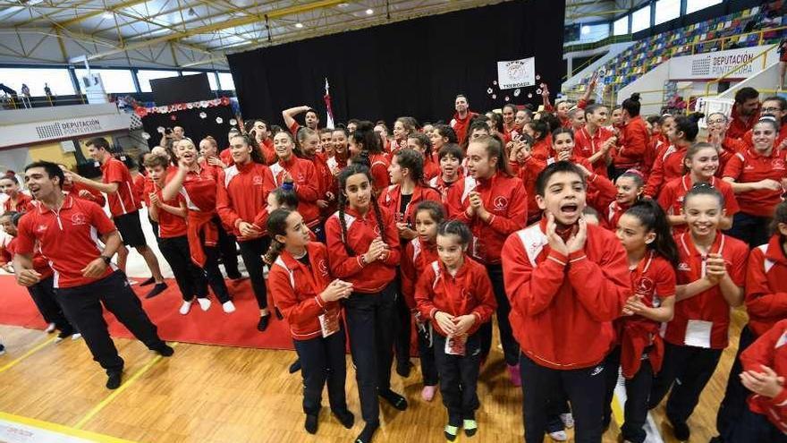 Más de 385 gimnastas se citan en el Príncipe Felipe