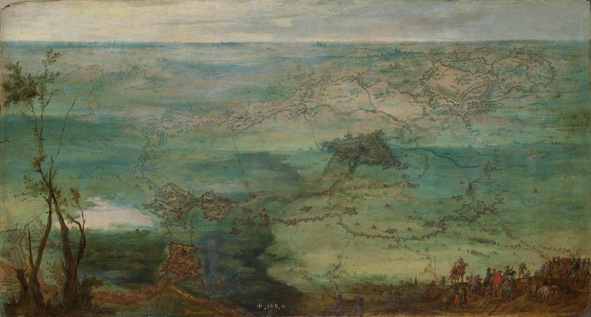 Peter Snayer, Vista del Sitio de Breda (2ºtercio XVII).jpg
