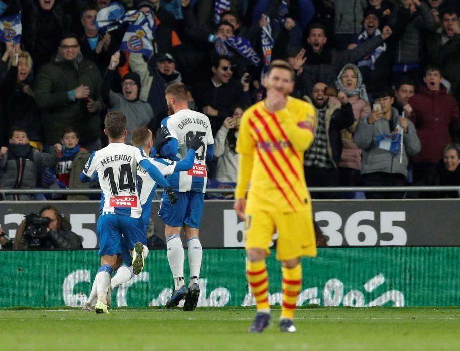 Espanyol - Barça, en imatges