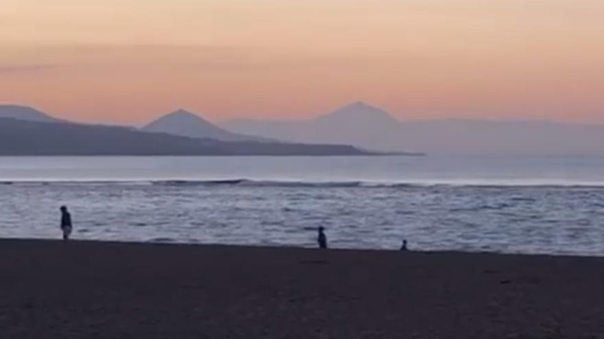 Canarias se libra de la borrasca 'Hortensia'
