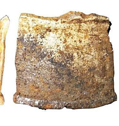 Cerámiques medievales atopaes na braña Los Fuexos, en Balmonte.
