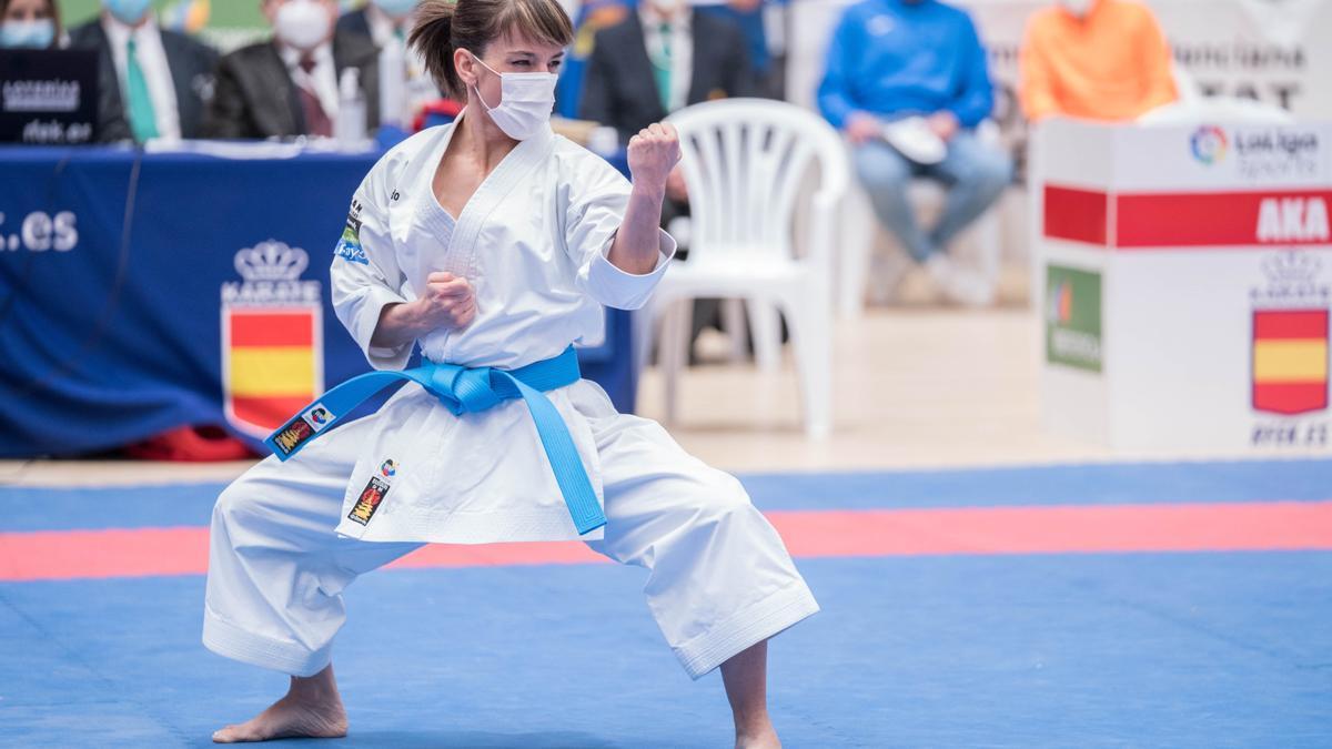 Sandra Sánchez aspira a medalla en el estreno del karate en unos Juegos.