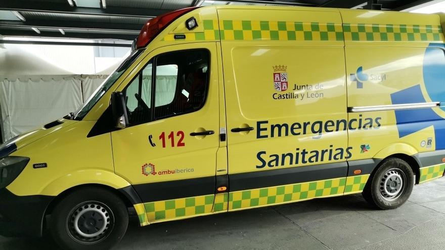 Tres heridos en una colisión frontal en la N-VI en El Espinar (Segovia)