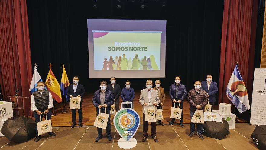 Soy Norte y en el Norte compro', una campaña para dinamizar el comercio de la comarca que inundará esta Navidad todos los canales