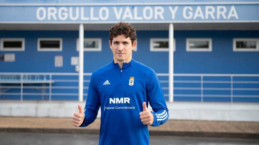 """Blanco Leschuk se marca un objetivo ambicioso: """"Jugar en Primera con el Oviedo"""""""