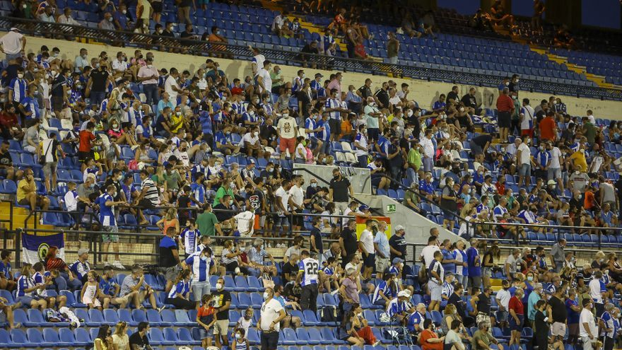 Sanidad rechaza la petición del Hércules y no deja meter mas del 5.000 personas en el Rico Pérez