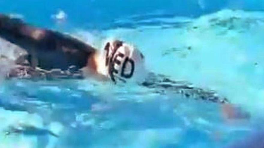 Vídeo: Entrena aguas abiertas en una piscina de dos metros