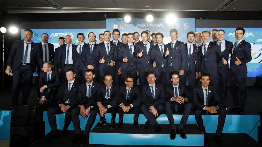 El Astana presenta el nuevo año con Luis León en sus filas
