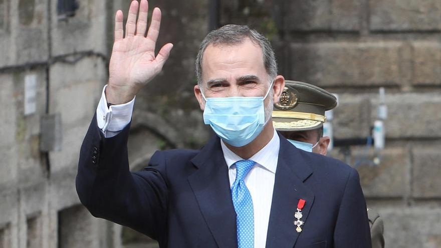 Felipe VI abre el II Foro La Toja, que tratará los retos económicos tras la pandemia