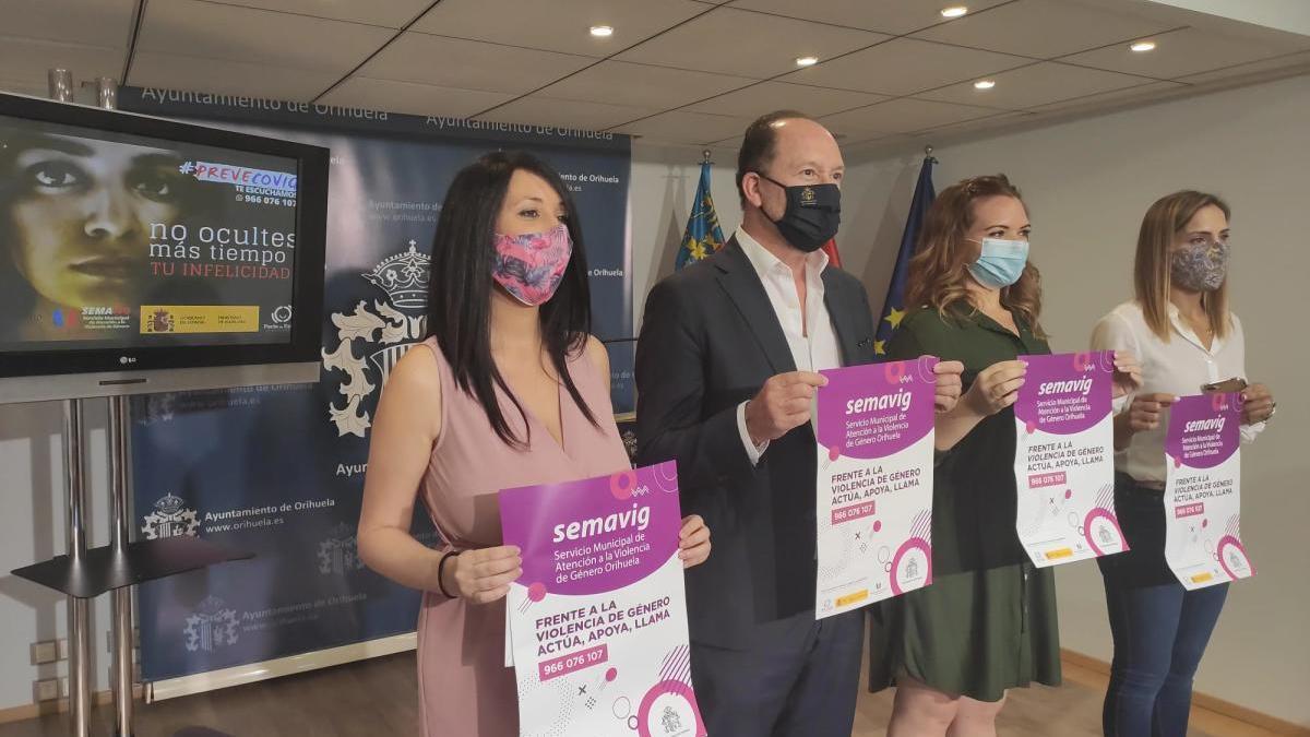 Orihuela lanza una campaña para erradicar la violencia de género tras el desconfinamiento