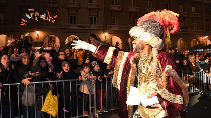 A Coruña no tendrá cabalgata de Reyes Magos estas Navidades