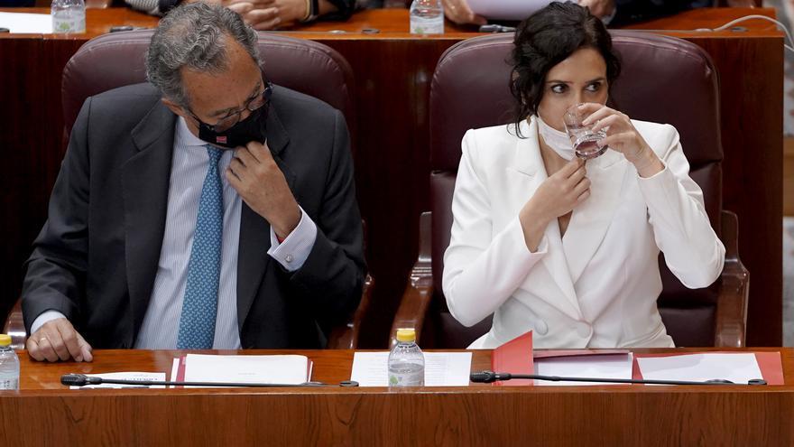 """Ayuso: """"La Comunidad de Madrid es el muro donde se estrellan las políticas del Gobierno central"""""""