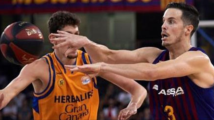 El Barça supera con claridad al Gran Canaria en el estreno