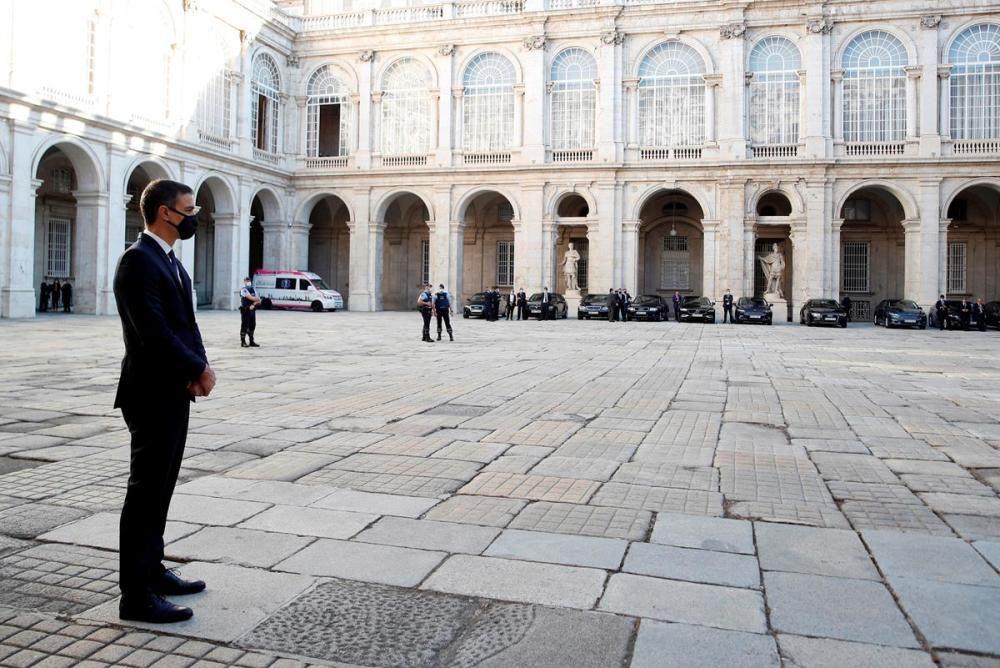 Homenatge de l'estat espanyol a les víctimes de la Covid-19