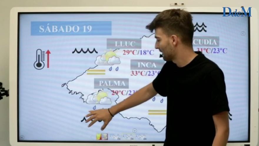 El tiempo del fin de semana en Mallorca: Polvo en suspensión y calima africana