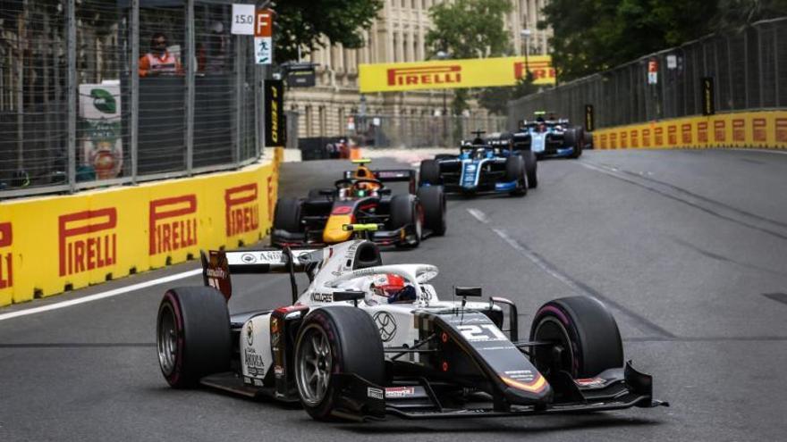 Campos Racing se cuela en los puntos en el GP de Bakú de F2