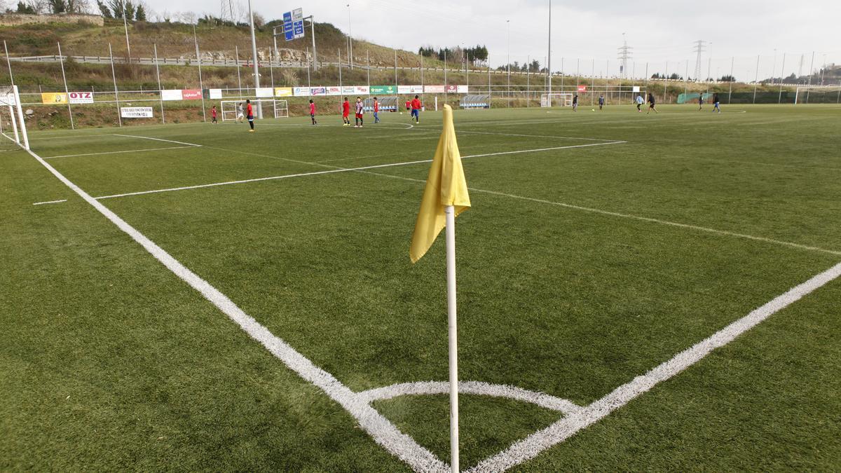 Campo de fútbol La Braña sur