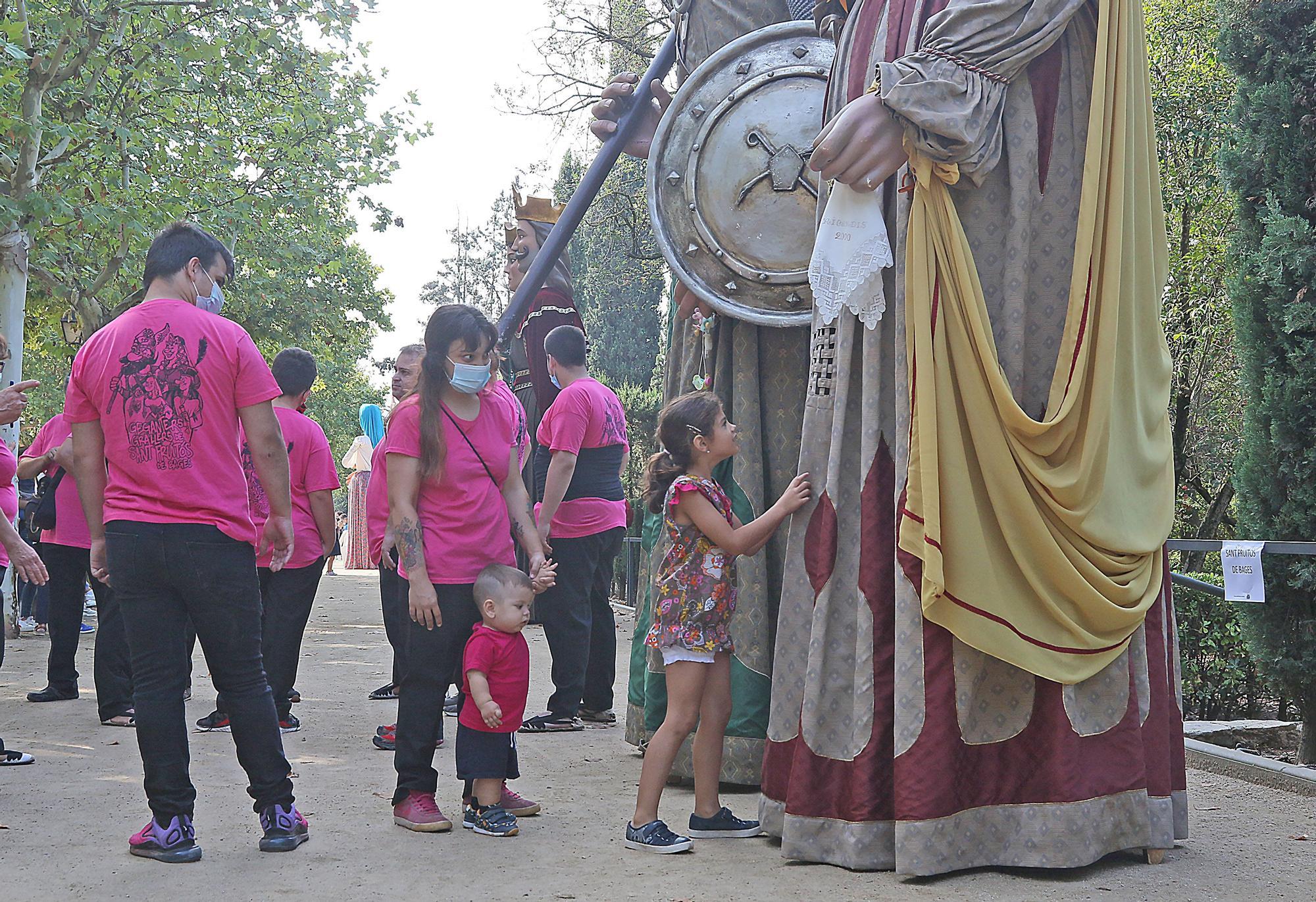 Festa dels 40 anys del gegants reis a Sallent