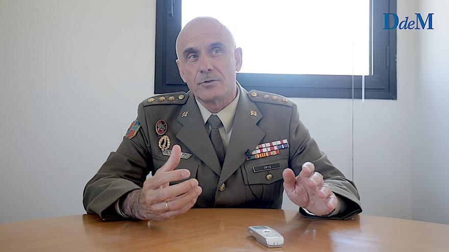 Entrevista a Antonio Ortiz, coronel del Ejército, jefe de la Oficina de Comunicación de la Comandancia de Balears