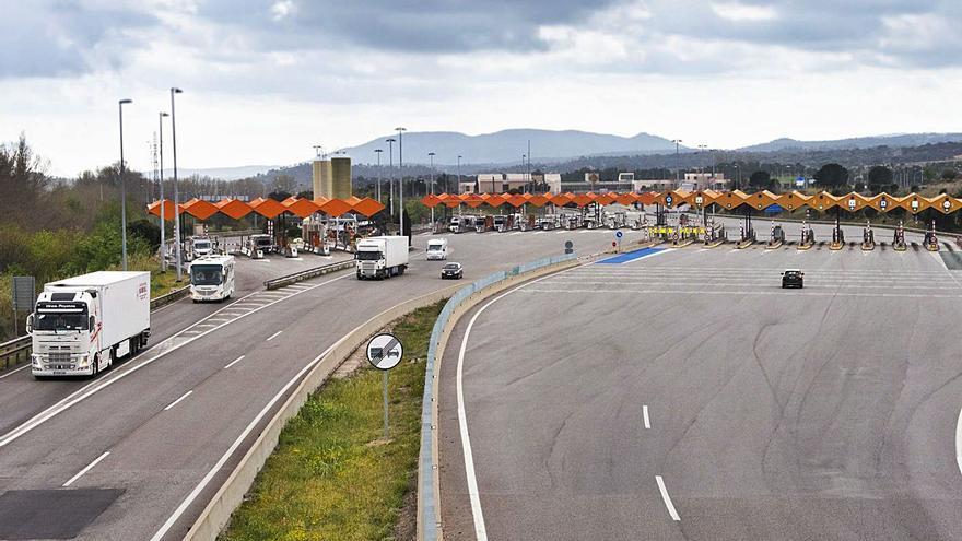 Un estudi analitza l'efecte de l'eliminació de peatges a l'autopista el 31 d'agost