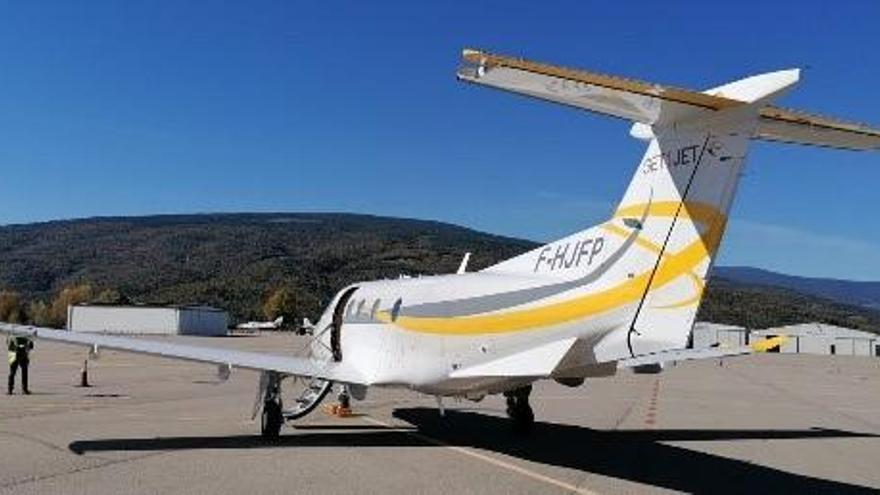L'aeroport d'Andorra-La Seu recupera trànsit durant el mes de febrer