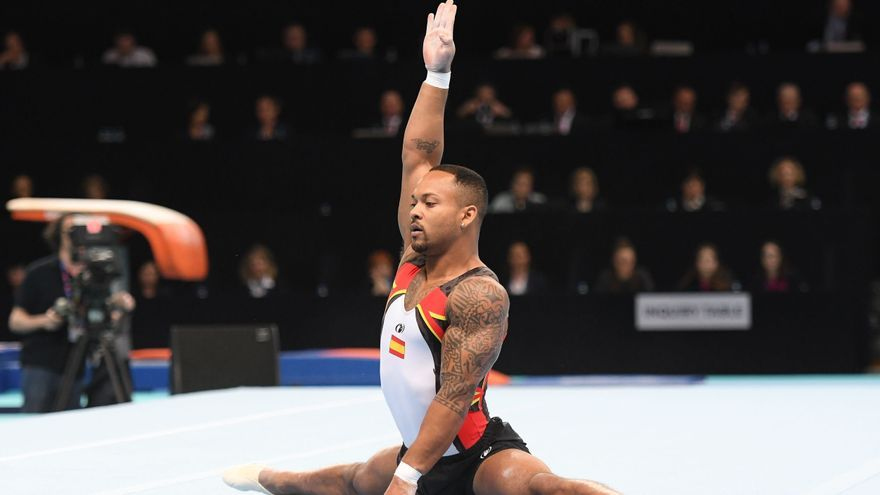 El gimnasta español Ray Zapata disputará la final de suelo