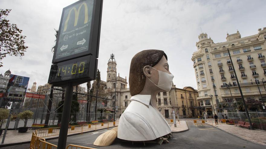 València no tomará una decisión sobre las Fallas hasta el 15 de junio