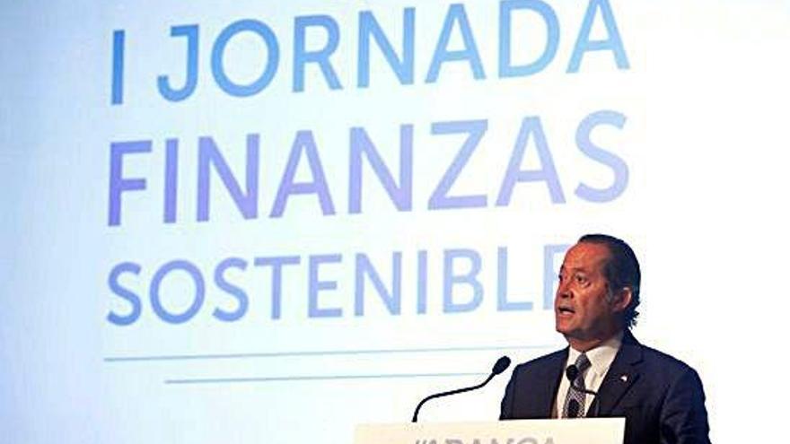 """Escotet reivindica el papel de la banca en la transición hacia """"un modelo más sostenible"""""""