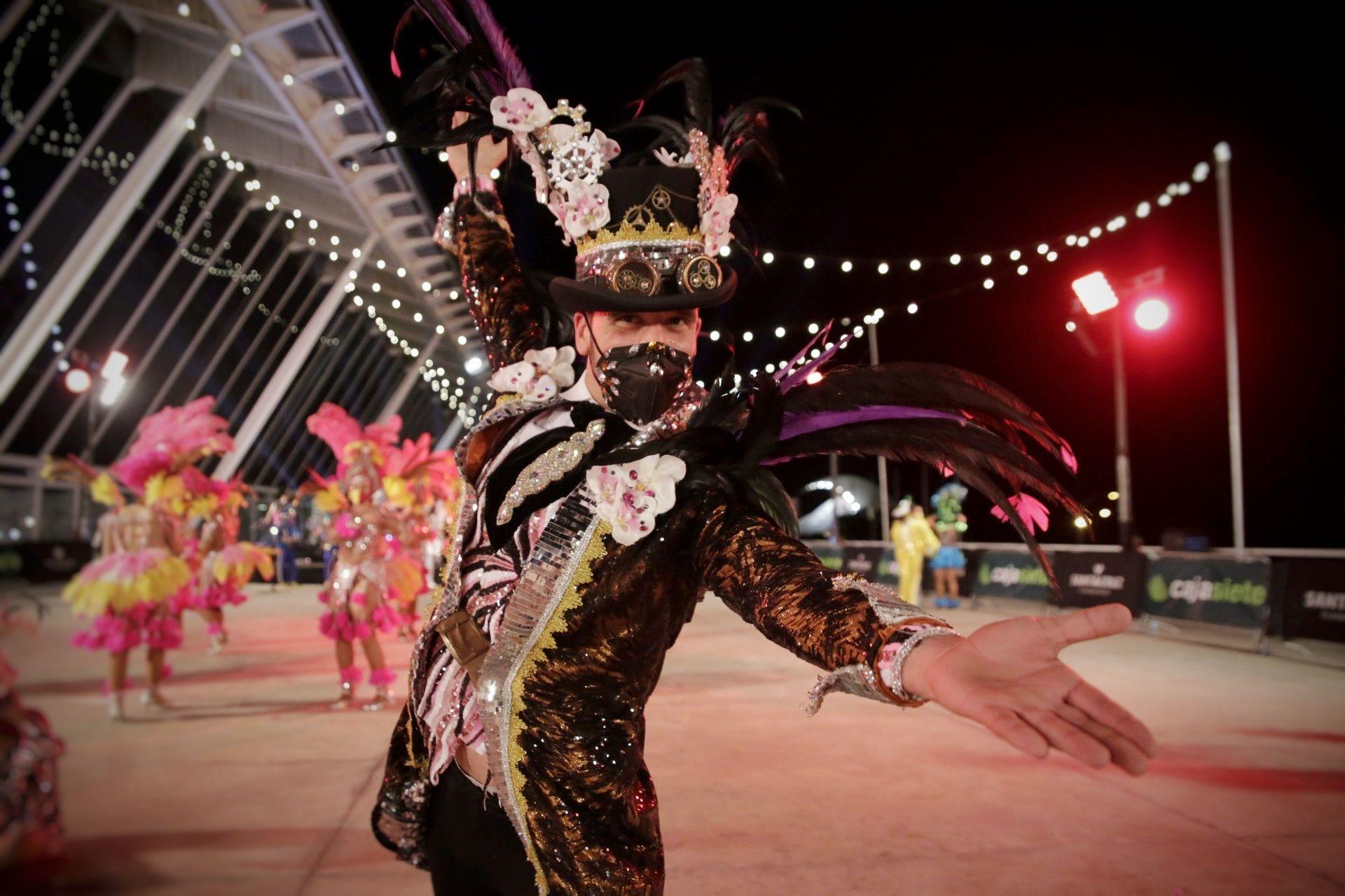 Grabación de las comparsas para el Carnaval Virtual