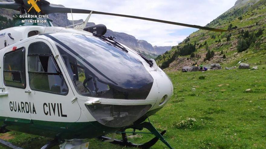 La Guardia Civil de Huesca no tiene conocimiento del posible repliegue del EREIM de Panticosa