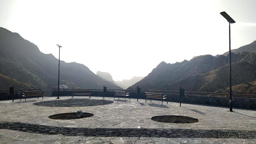 Un nuevo mirador en La Solana se suma a la red de 'balcones' de la cumbre