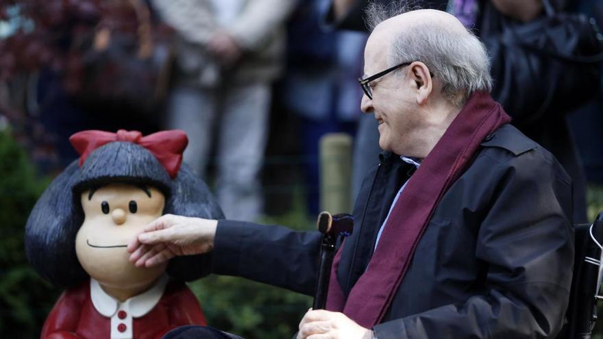 Mor Quino, el pare de Mafalda