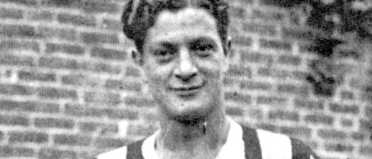 Cesarini, en sus años de jugador de la Juventus.