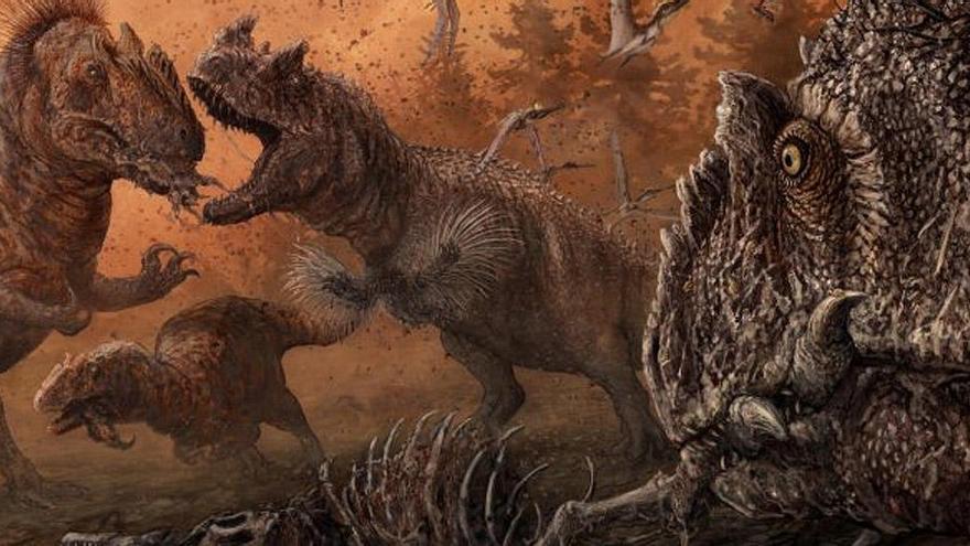 ¿Eran caníbales los dinosaurios?