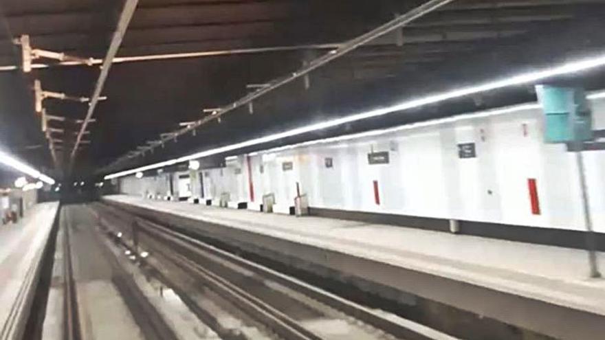 Finalizan las obras en el túnel del Cabanyal