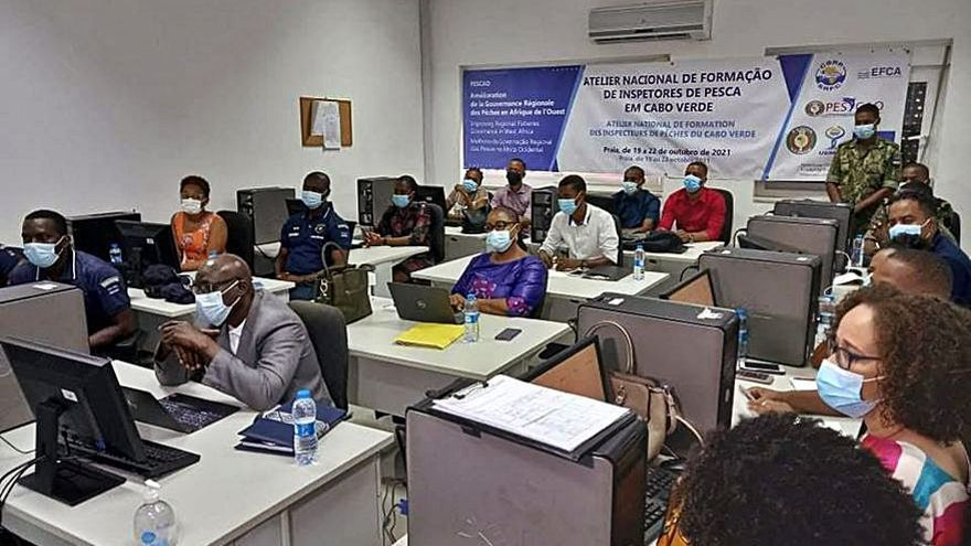 La EFCA forma a inspectores de Cabo Verde