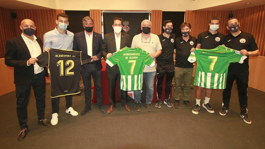 El Real Betis Balompié signa un conveni amb el Club Futbol Sala Blanesport de Blanes