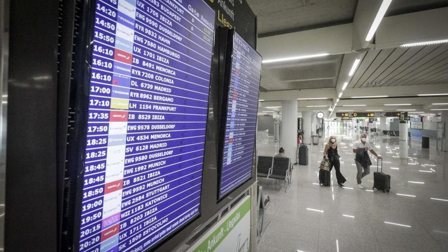 Son Sant Joan mantiene los 155 vuelos con Alemania programados hoy