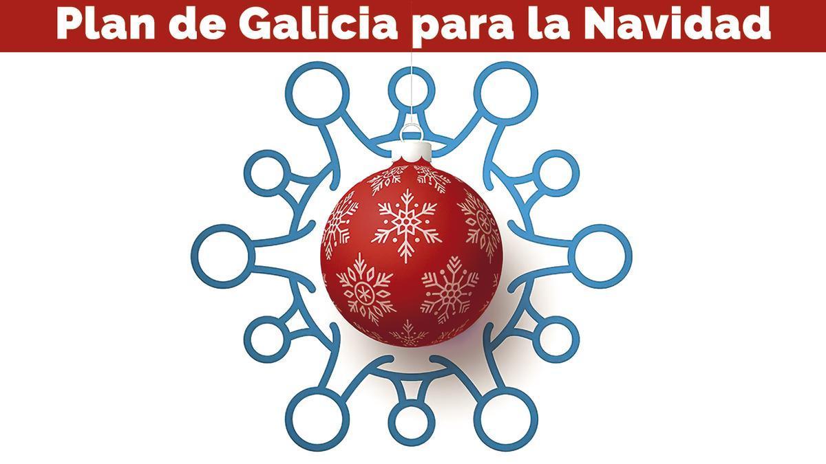 Galicia se prepara ya para la Navidad COVID
