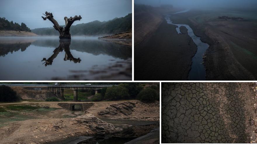 Abren expedientes a las eléctricas por el vaciado extremo de tres presas de Ourense