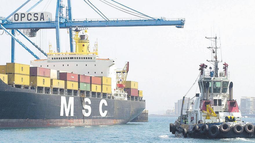 Las exportaciones se desploman  en las Islas a niveles de hace 15 años